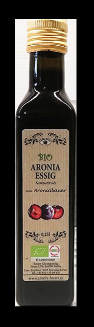 Bio Aronia Essig 0,25l