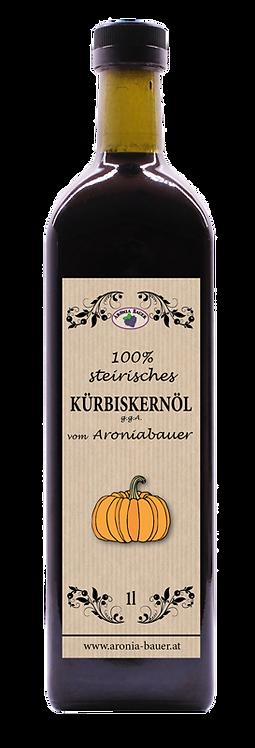 Unser orig. steirisches Kürbiskernöl 1l