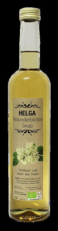 """HELGA""  Bio Holunderblüten - Sirup 0,5l"