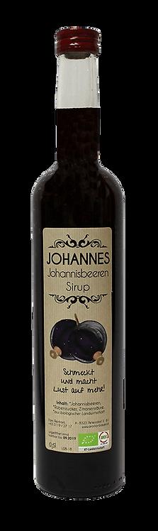 """""""HANNES"""" Bio  Johannisbeeren - Sirup 0,5l"""