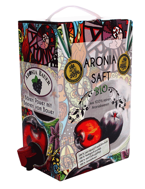 Bio Aronia Saft - ungesüßt 3lt