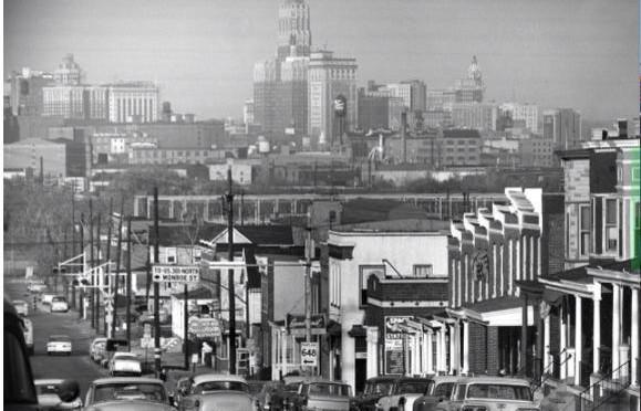 Westport's Annapolis Road in the 1970s