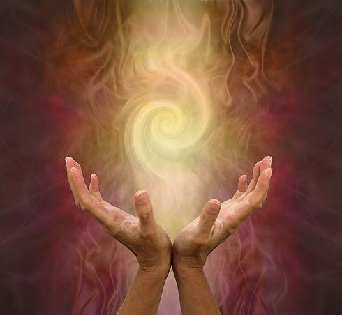 Channeling Golden Vortex healing energy