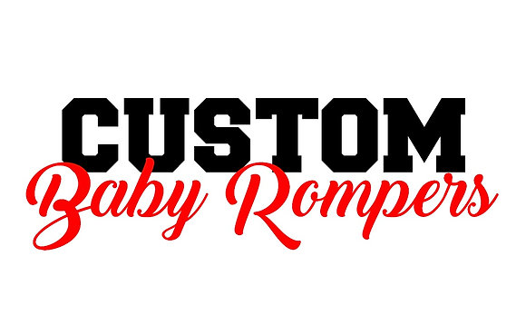 CUSTOM BABY ROMPERS