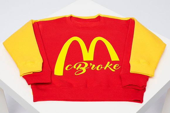 McBroke or McMoney SWEATER