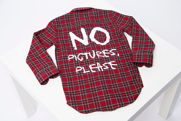 NO PICTURES, PLEASE BLOUSE