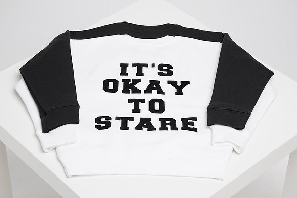 IT'S OKAY TO STARE SWEATER