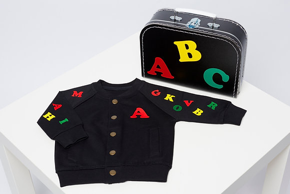 ABC BABY JACKET (or SET)