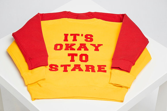 IT'S OKAY TO STARE SWEATER #2