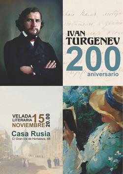 Bicentenario de nacimiento de Turgeniev