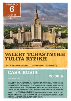 Valery Tchastnykh y Yuliya Ryzhikh 2020 Casa Rusia Madrid