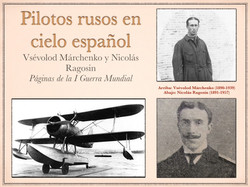 Pilotos rusos en cielo español Casa Rusia Madrid