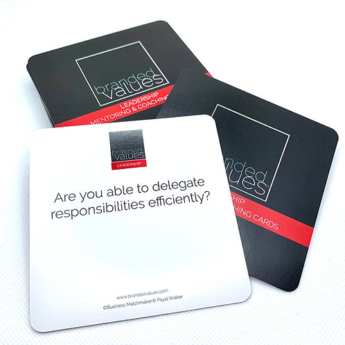 Branded Values Leadership Cards