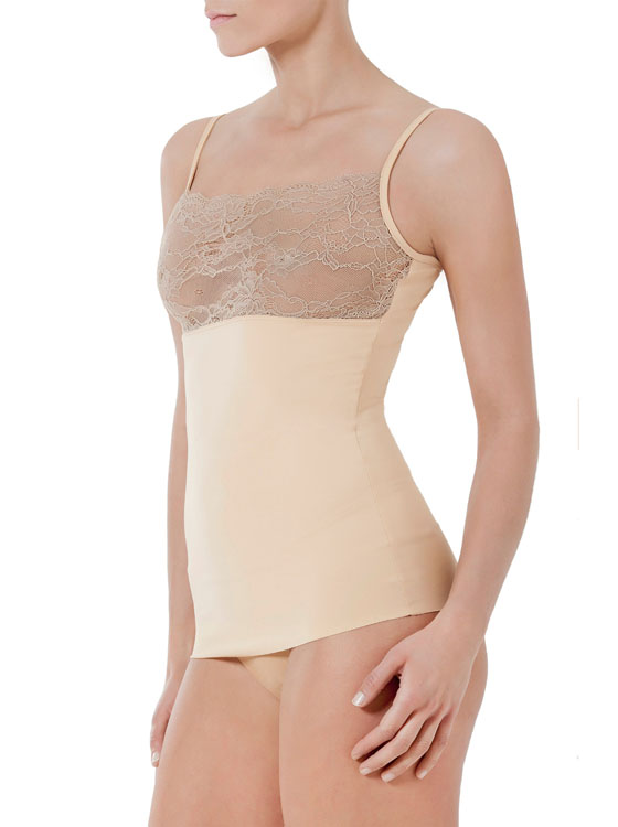 easy shape stretch lace nude