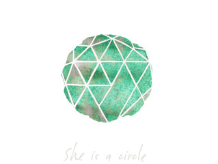 THE MEANING: SHE IS A CIRCLE