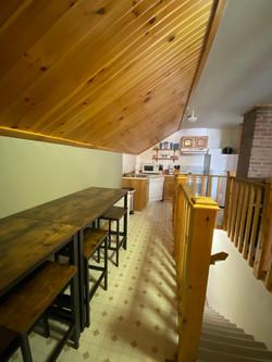 Unit #5 dining area