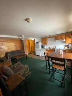 Unit #3 Living room & Kitchen