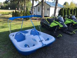 Pelican pedal boat rental
