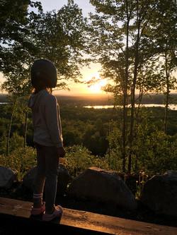 Gracie A - Sinclair sunset