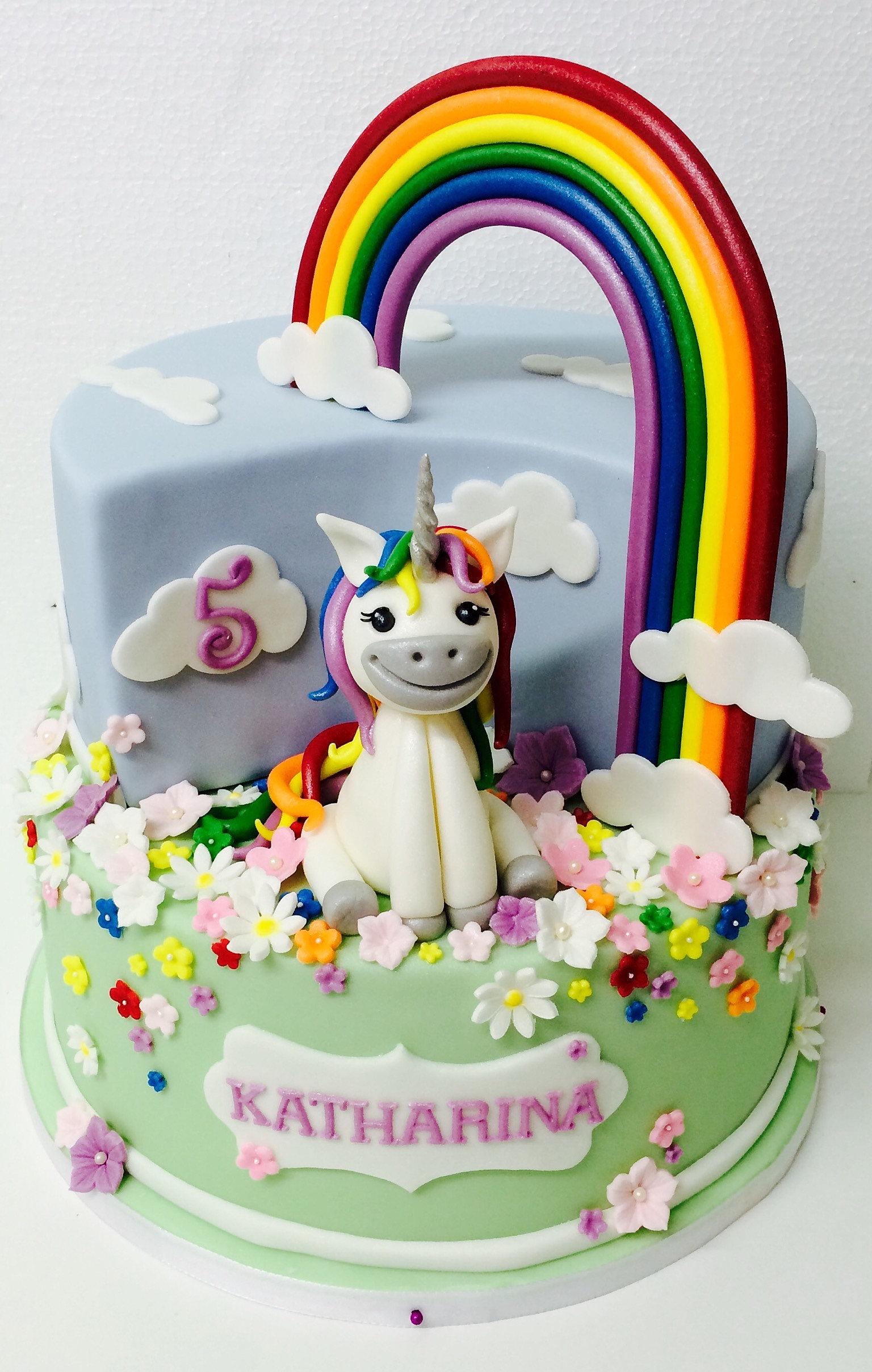 A Unicorn Cake