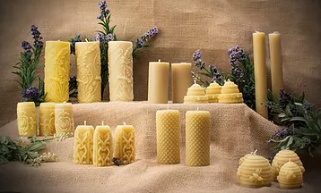 Work, Beeswax Candles, Carmelite