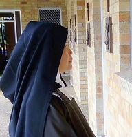 Prayer, Carmelite, Nun, Praying, Vocation, Religious Life, Goonellabah, NSW, Australia, Traditional, Orthodox, Catholic, Monastery