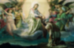 Brown Scapular, Carmeite, Devotion, Sacramental, Saint Simon Stock, Mary, Our Lady of Mount Carmel
