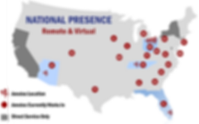 2019 National Presence Map Amotec