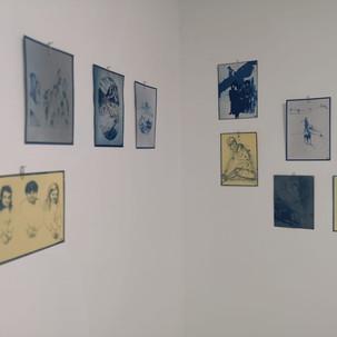 Exposición colectiva en Haimney Gallery. Barcelona 2018