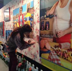 Colaboración para Marcos Lopez en ExpoColor de Pintecord, Córdoba 2015
