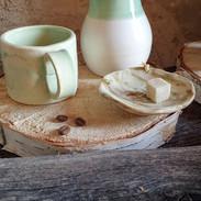 Pot à lait ou thé hauteur 11cm 200ml