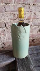 Pot gardefrais, 31cm de hauteur 11cm de diam.
