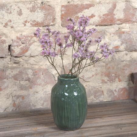 Vase céramique vert concombre