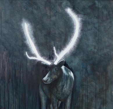 Illuminated Deer I