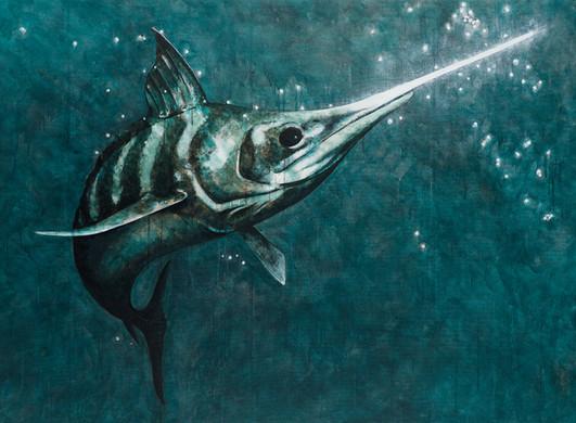Illuminated Swordfish