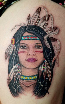 Native Woman