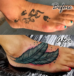 Feather Coverup