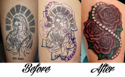 Rosary Coverup