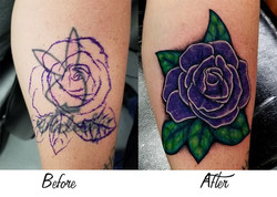 Purple Rose Coverup