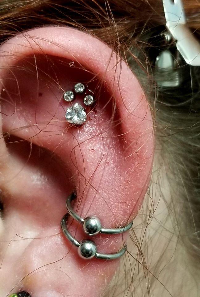 Paw Piercings
