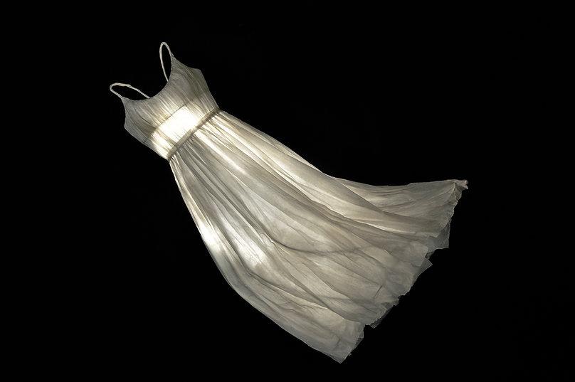 Géraldine Gonzalez, robe, cristal