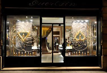 Vitrines Guerlain - Noël 2012-2013 des boutiques parisiennes