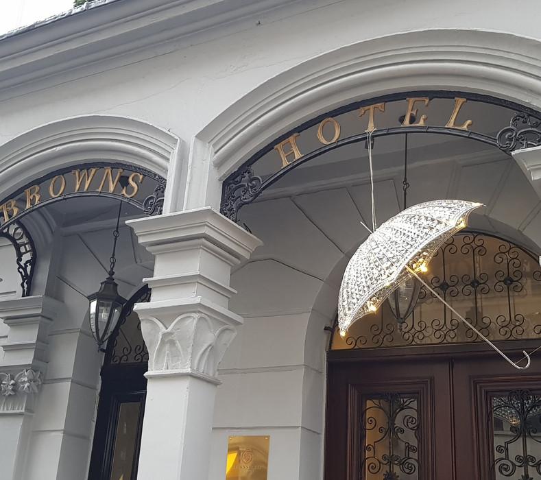 Exposition Collective Maison Parisienne à l'Hôtel Brown (Londres), Octobre 2018