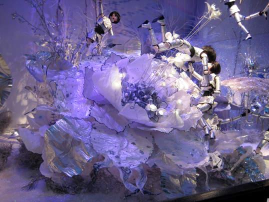 Printemps Haussmann - Noël 2008