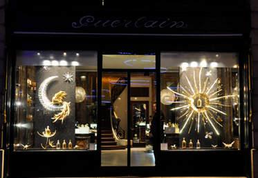 Vitrines Guerlain - Noël 2010-2011 des boutiques parisiennes