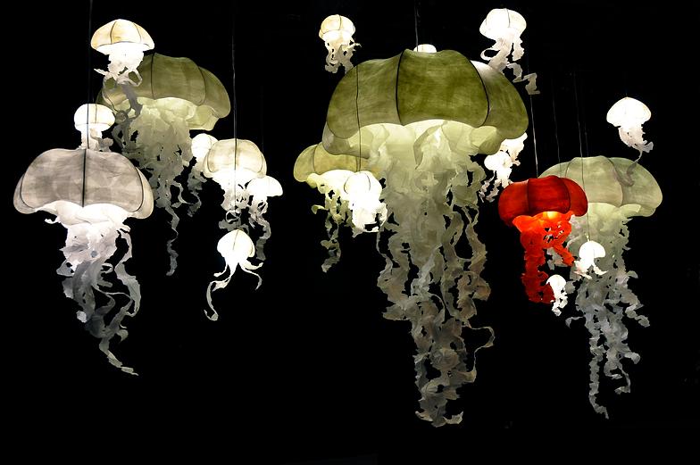 Géraldine Gonzalez, méduses, crystal, cristal