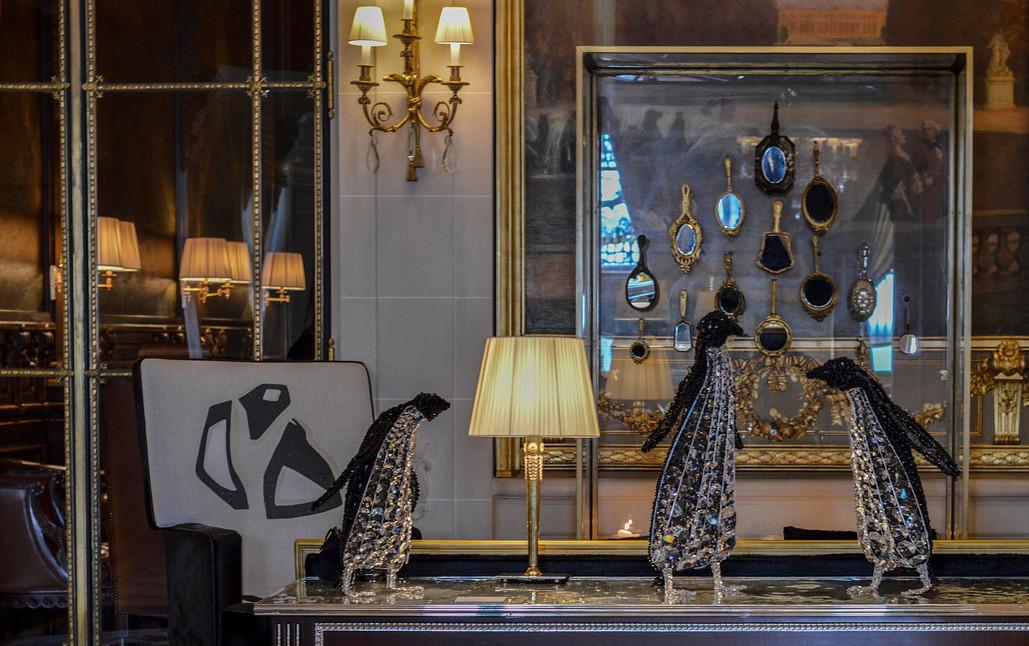 Exposition Collective Maison Parisienne à l'Hôtel Le Meurice (Paris), Avril 2018