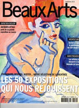 Beaux Arts Magazine 2015