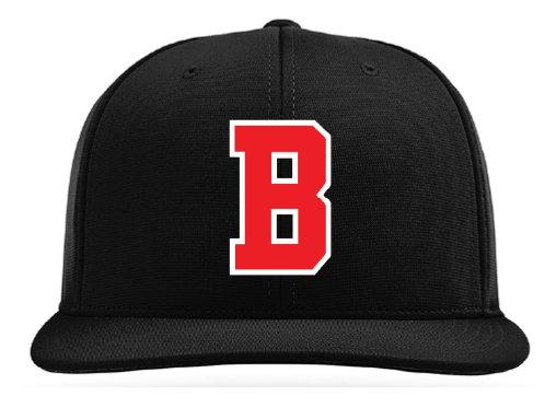 Black Adjustable Ball Cap