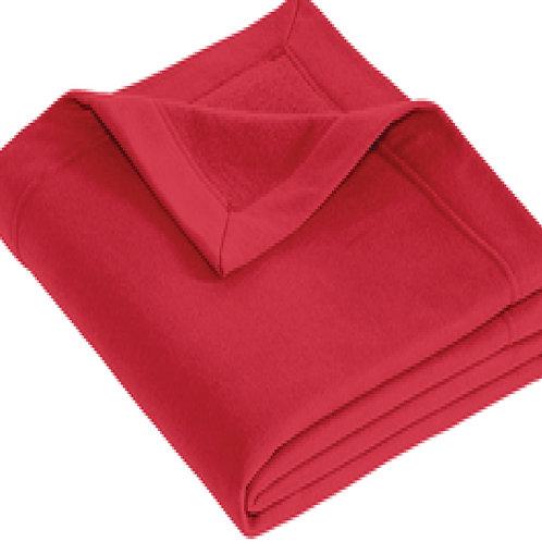#12900 Dryblend Fleece stadium blanket Cardinal Red